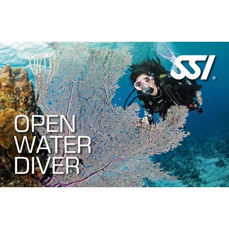 Corso subacqueo Open Water Diver SSI (Level 1) interamente seguito all'Argentario